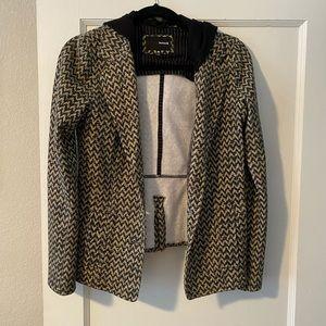 Hurley hooded blazer/jacket